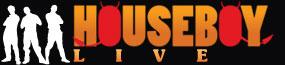 HOUSEBOY LIVE Logo