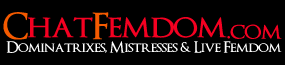 Femdom Sex Chat - Femdom Cams, Chat with a Mistress Logo