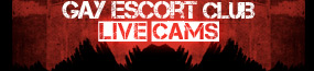 Gay Escorts on Webcams - Live Video Chat Logo