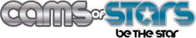 cams of stars Logo